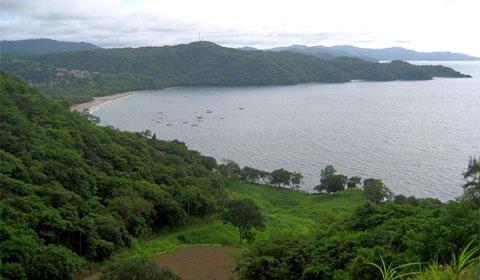 Costa Rica's Pacific coastline