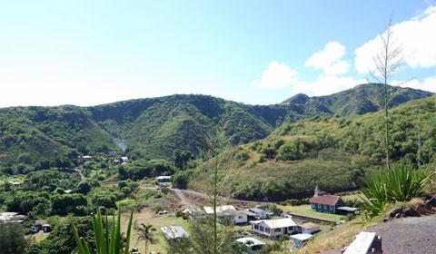 Maui village