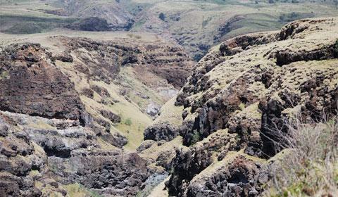 Desert-like landscape, Maui