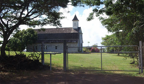 Old church on Maui