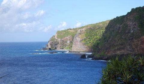 Ocean cliffs, Maui