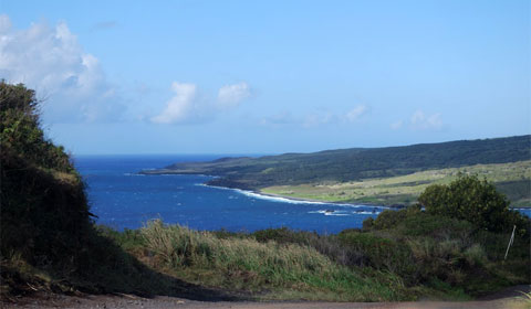 Maui arid coastline