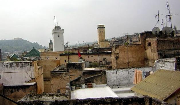 Medieval minarets in Fez