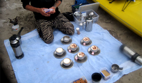 Mercury Bay - the beach cafe