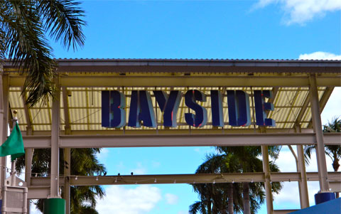 Bayside during the day