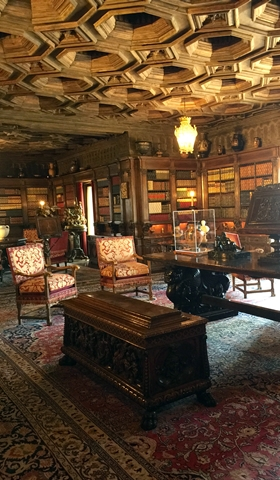 Mr. Hearst's library, containing four thousand books