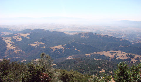 View from Mt. Diablo