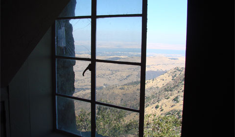 View from the information center | Mt. Diablo