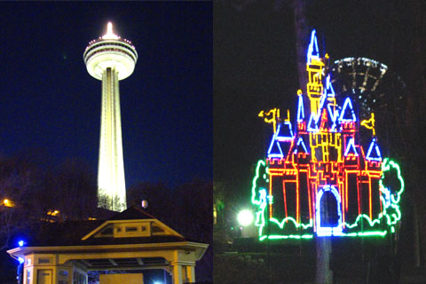 Skylon Tower and the Magic Castle