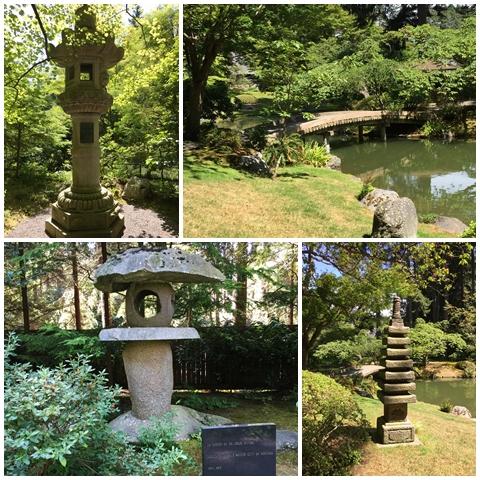 Symbols & signifiers in Nitobe Memorial Garden