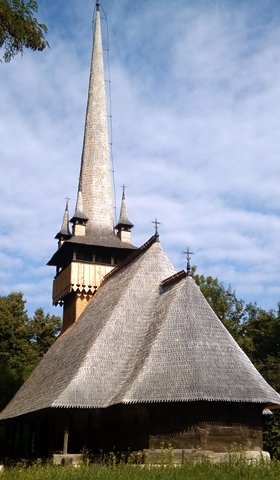 One of the wooden churches