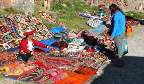 Our favorite weaver at the Chinchero market.
