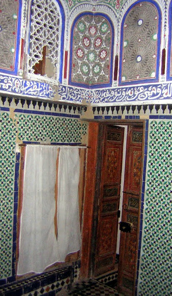 Our room at the riad in Fez