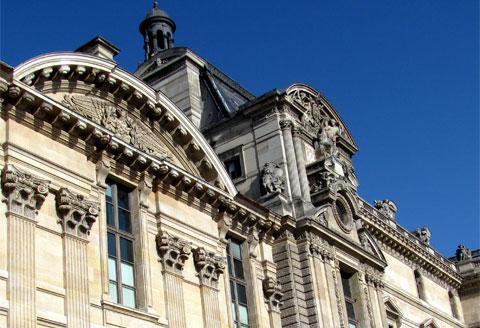 Louvre Museum, Pavillon de Marsan, Paris, France