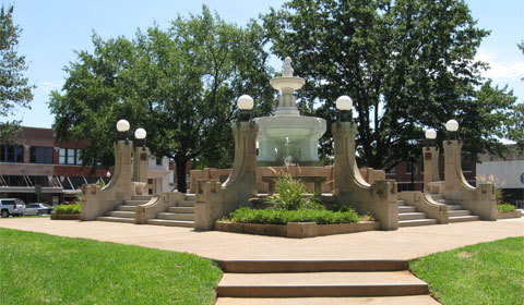 Culbertson Fountain