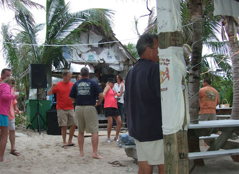 Dancing at Pete's Pub, Abaco Island