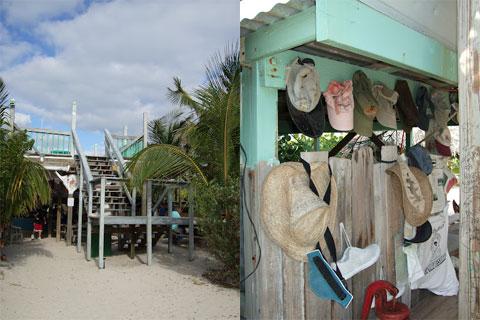 Pete's bar, Abaco Island