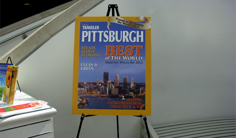 National Geographic Traveler - Pittsburgh special cover