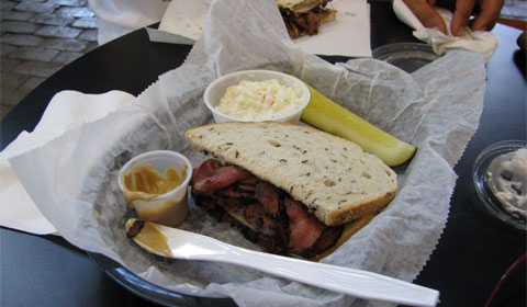 One of the Kravitz Deli sandwiches I have known and loved