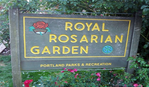 Royal Rosarian Garden | Portland Rose Test Garden