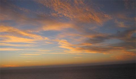 Candyfloss sky, sunrise, Rangitukia