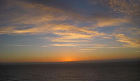 Just before sunrise, Rangitukia