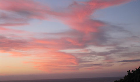Rangitukia before sunrise