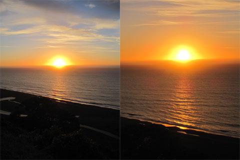 Rangitukia sunrise progressing