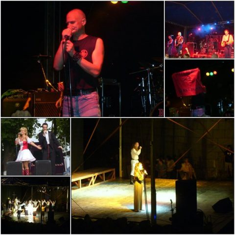 Republic concert, Eperjesi Katalin operetta concert, and István a Király rock opera
