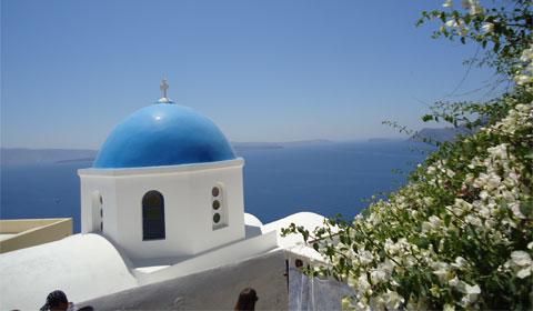 Postcard-Perfect Santorini