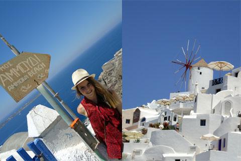 Windmill on Santorini
