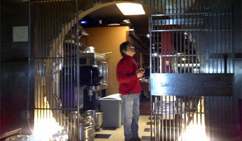 Selah Restaurant bank vault doors