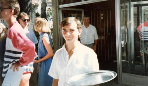 Spanish waiter