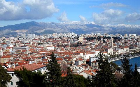 Panoramic view of Split, Croatia | Creative Commons License