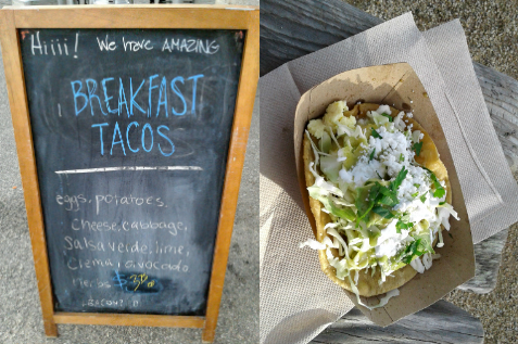 Steamer Lane Supply, Santa Cruz, California | breakfast tacos