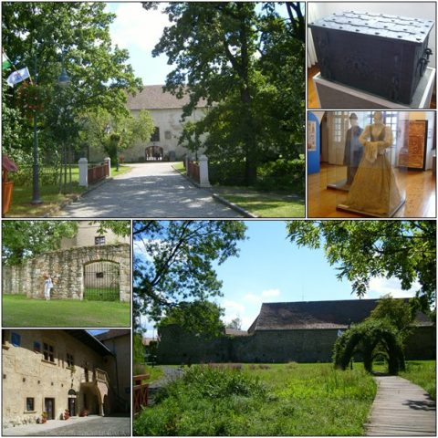 The Rákóczi castle grounds and exhibition.