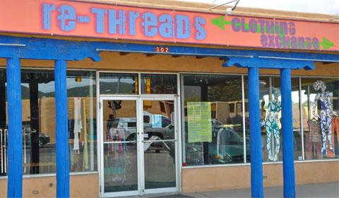Rethreads, Taos, NM