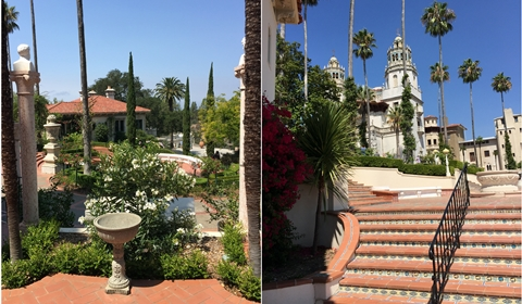 A peek at Hearst Castle and its lush, serene gardens