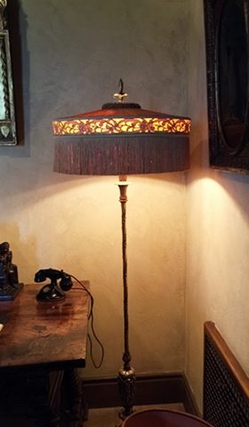 The lamp in Marion Davies' bedroom