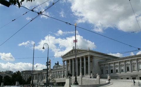Trolley lines overhead