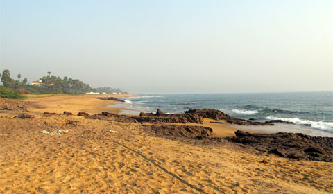 Beach at Vizag