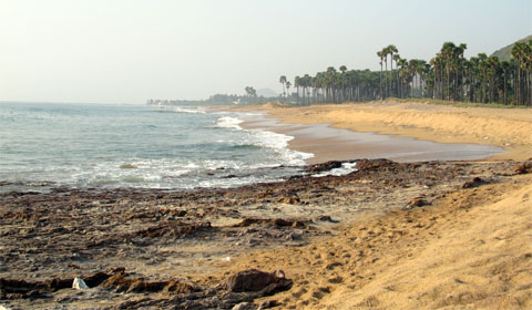 Coastline at Vizag