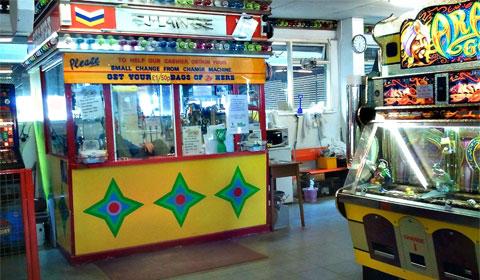 Barmouth arcade