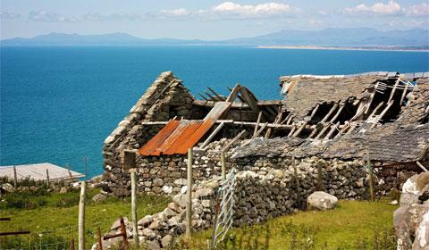 Wales stone hut