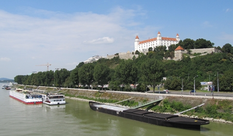 Ships on the Danube