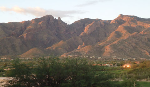 The Catalina Mountains