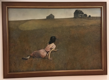 Wyeth's painting in the Museum of Modern Art in NYC