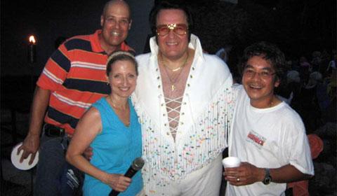 Elvis Tribute Artist, Jim Penney