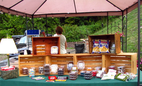 Yellow Creek Theatre snack bar