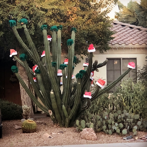 Funky Decorations: Holiday wishes, the travel writer's way